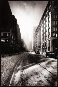 Snow Filled Street, New York, 2012
