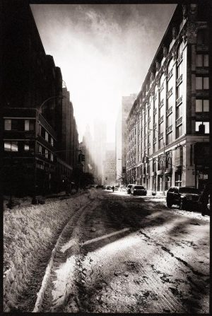 Snow Filled Street, New York, 2012