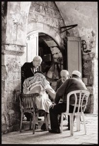 Backgammon Players, Jerusalem, 2009