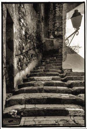 Stairway, Menton, France, 2013
